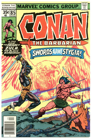 Conan the Barbarian #85 VF+