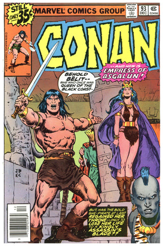 Conan the Barbarian #93 NM/MT