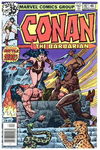 Conan the Barbarian #97 NM-