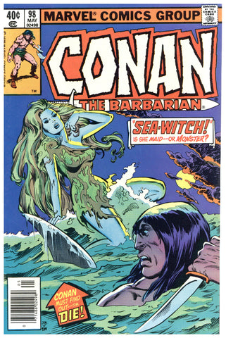Conan the Barbarian #98 NM