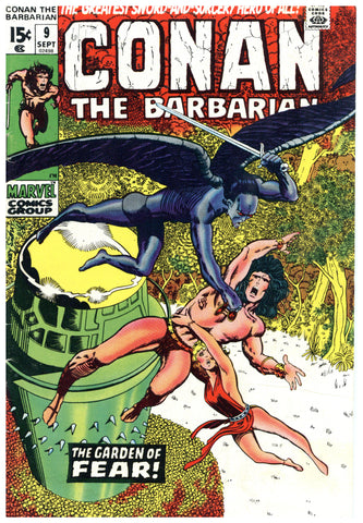 Conan the Barbarian #9 VG/F