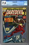 Colorado Comics - Daredevil #116  CGC 7.5
