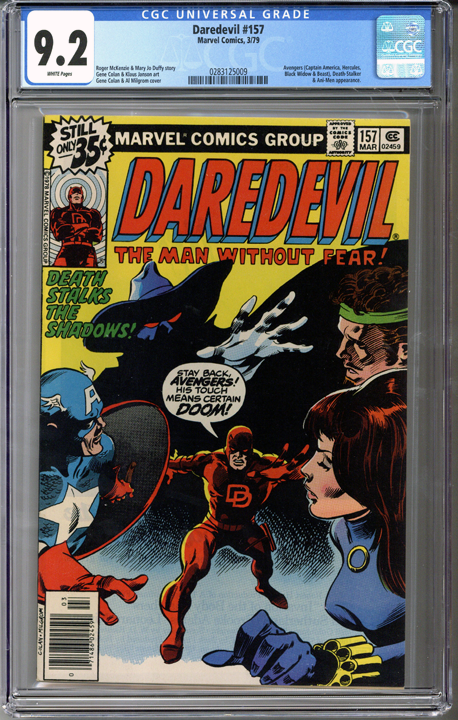 Colorado Comics - Daredevil #157  CGC 9.2