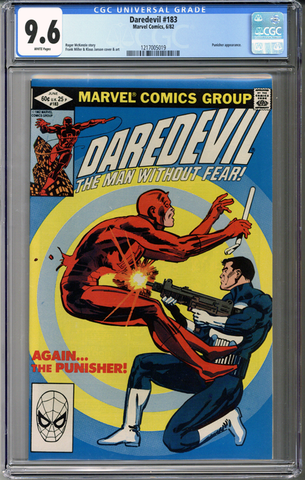 Colorado Comics - Daredevil #183  CGC 9.6