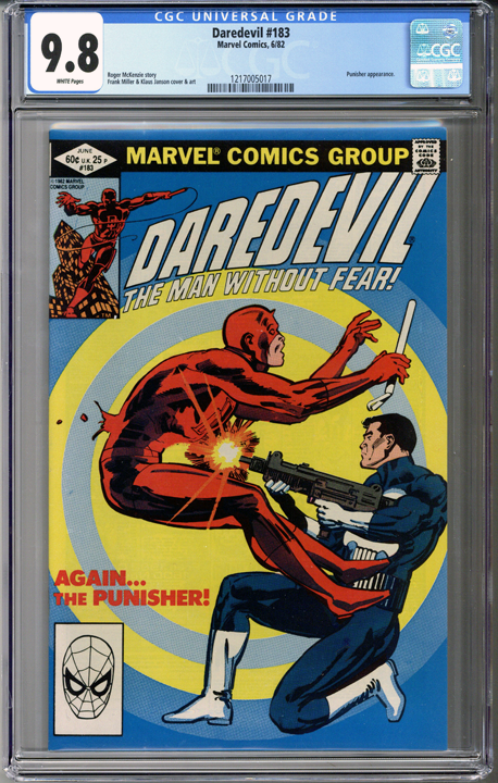 Colorado Comics - Daredevil #183  CGC 9.8