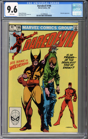 Colorado Comics - Daredevil #196  CGC 9.6