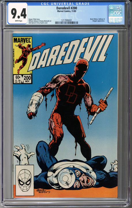 Colorado Comics - Daredevil #200  CGC 9.4