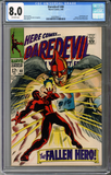 Colorado Comics - Daredevil #40  CGC 8.0