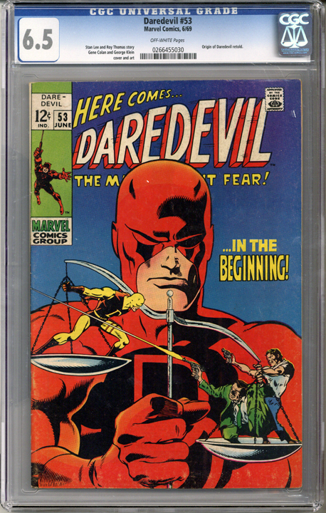 Colorado Comics - Daredevil #53  CGC 6.5