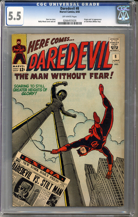 Colorado Comics - Daredevil #8  CGC 5.5