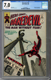 Colorado Comics - Daredevil #8  CGC 7.0