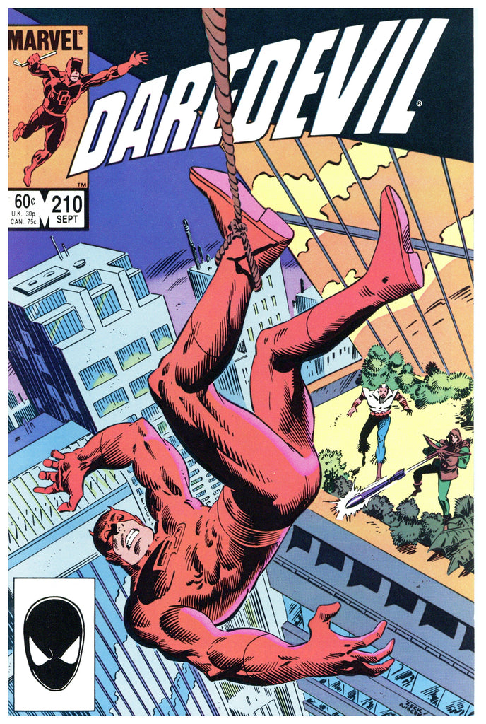Daredevil #210 NM