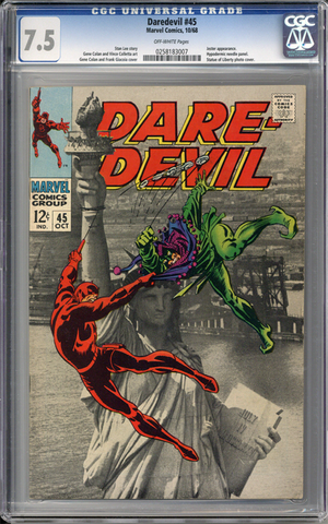 Colorado Comics - Daredevil #45  CGC 7.5