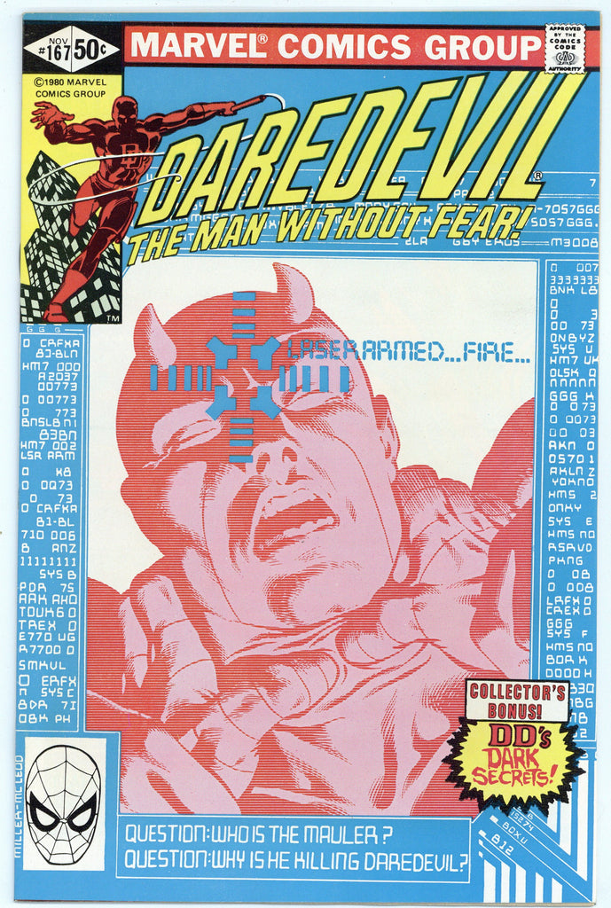 Daredevil #167 NM