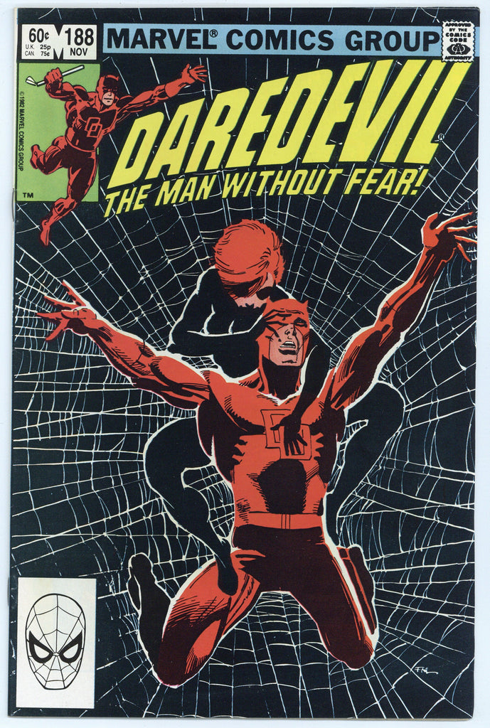 Daredevil #188 NM