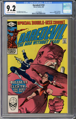 Colorado Comics - Daredevil #181  CGC 9.2