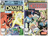 Dazzler #10 thru 17 VF+ to NM (8 books total)