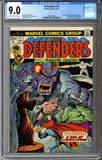 Colorado Comics - The Defenders #11  CGC 9.0