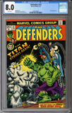Colorado Comics - The Defenders #12  CGC 8.0