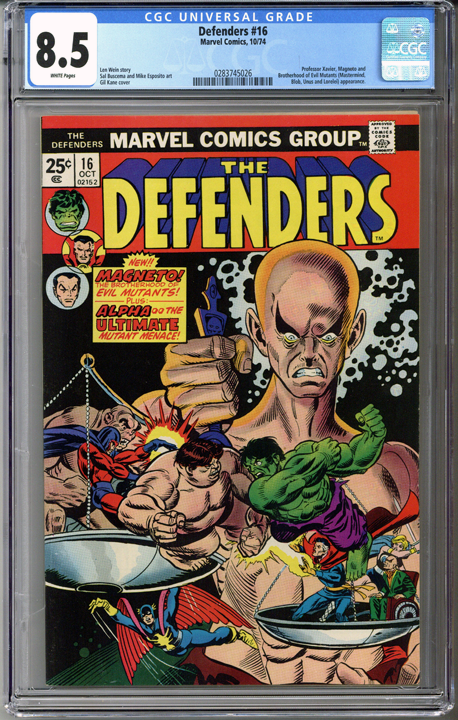 Colorado Comics - The Defenders #16  CGC 8.5