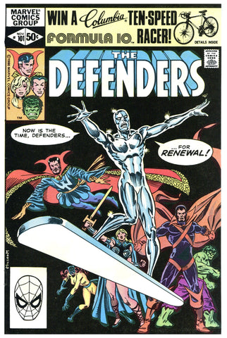 The Defenders #101 NM+