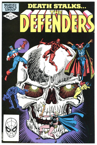 The Defenders #107 VF/NM