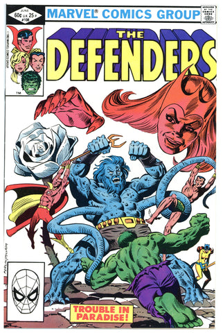 The Defenders #108 NM+