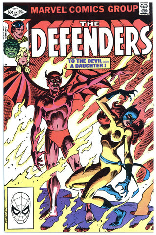 The Defenders #111 NM+