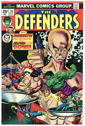The Defenders #16 VF