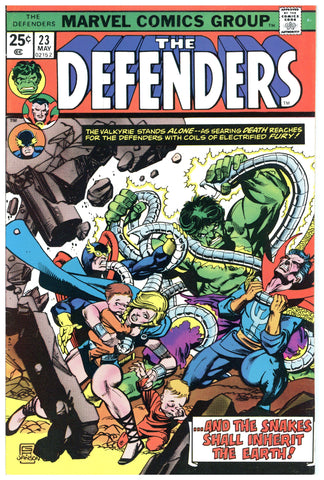 The Defenders #23 VF-