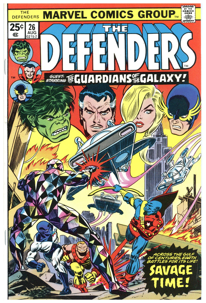 The Defenders #26 VF/NM