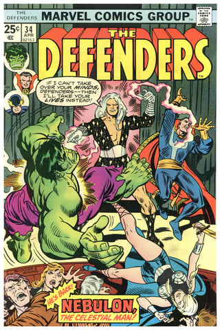 The Defenders #34 VF-