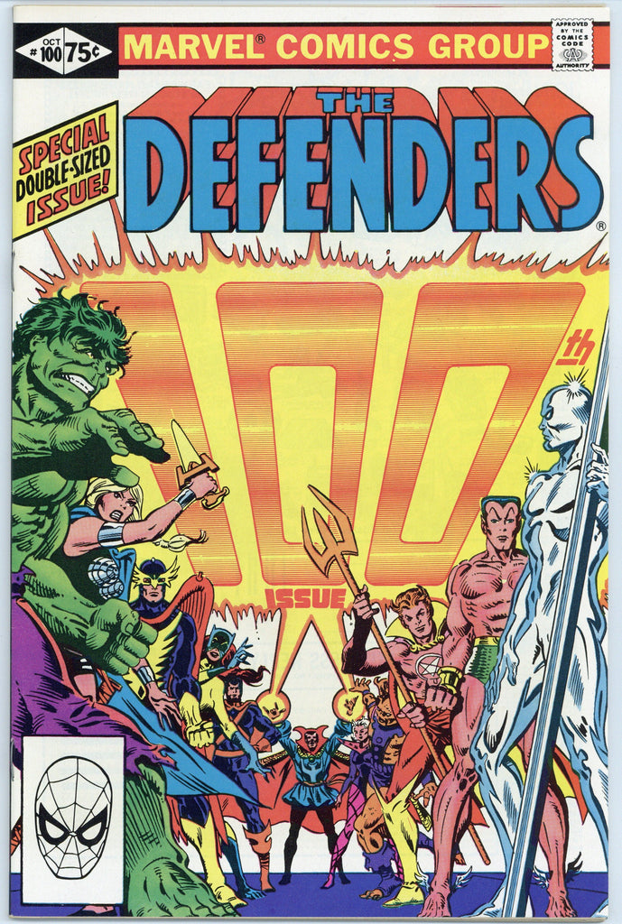 The Defenders #100 NM/Mint