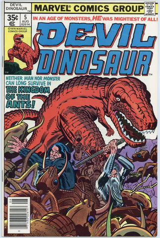 Devil Dinosaur #5 VF/NM