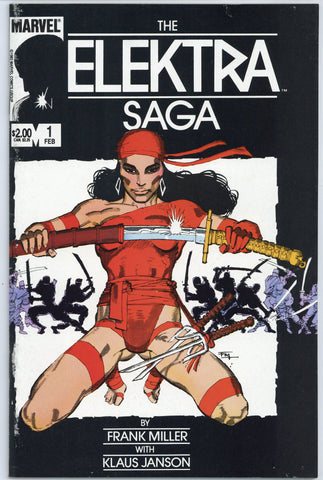 The Elektra Saga #1 thru 3  NM- (3 books total)