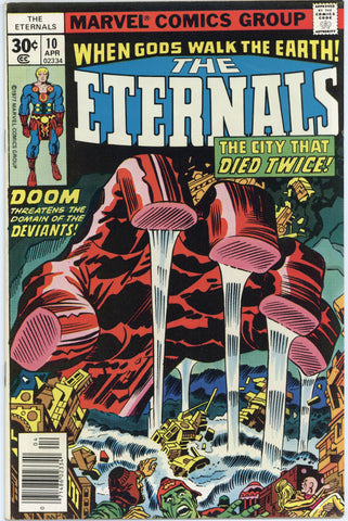The Eternals #10 NM-