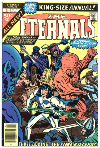 The Eternals Annual #1 VF/NM