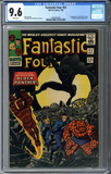 Fantastic Four #52 CGC 9.6 - WHITE Pages!