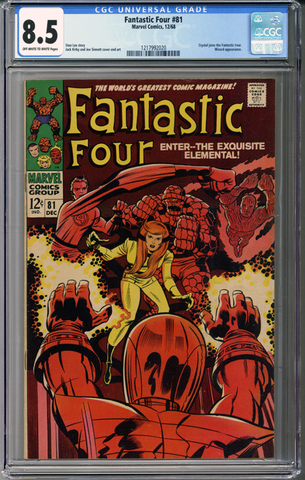 Colorado Comics - Fantastic Four #81  CGC 8.5