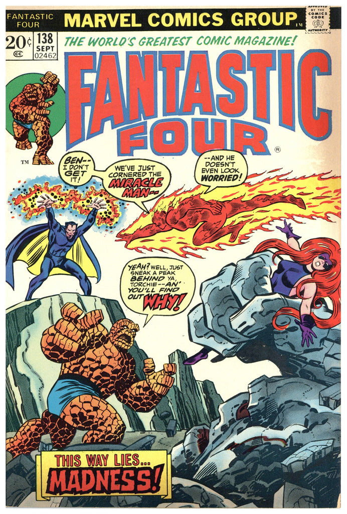 Fantastic Four #138 VF/NM