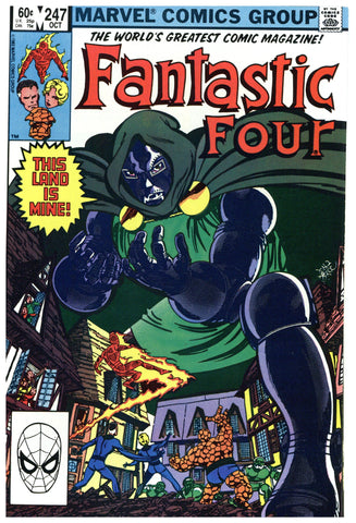 Fantastic Four #247 NM