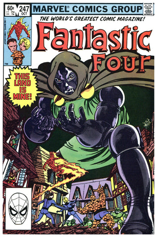Fantastic Four #247 NM+
