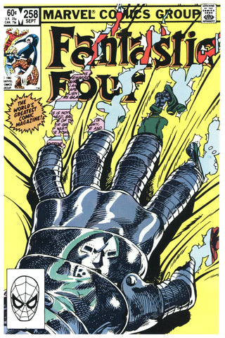 Fantastic Four #258 NM/MT