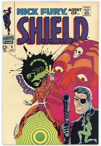Nick Fury, agent of SHIELD #5 VG/F
