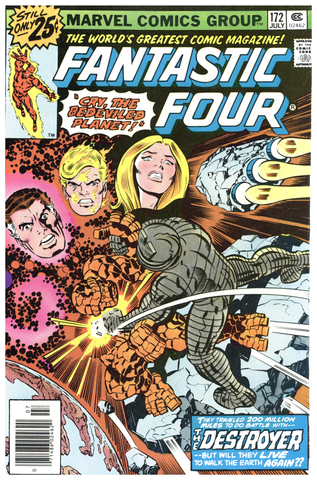 Fantastic Four #172 F/VF