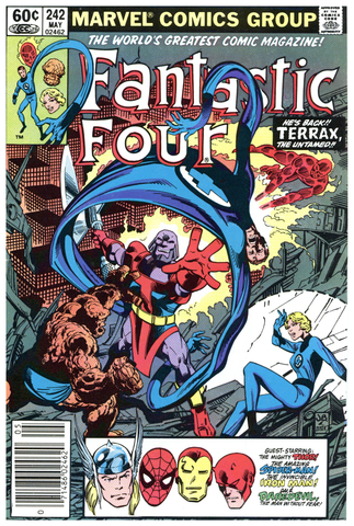 Fantastic Four #242 VF-