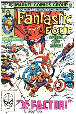 Fantastic Four #250 NM