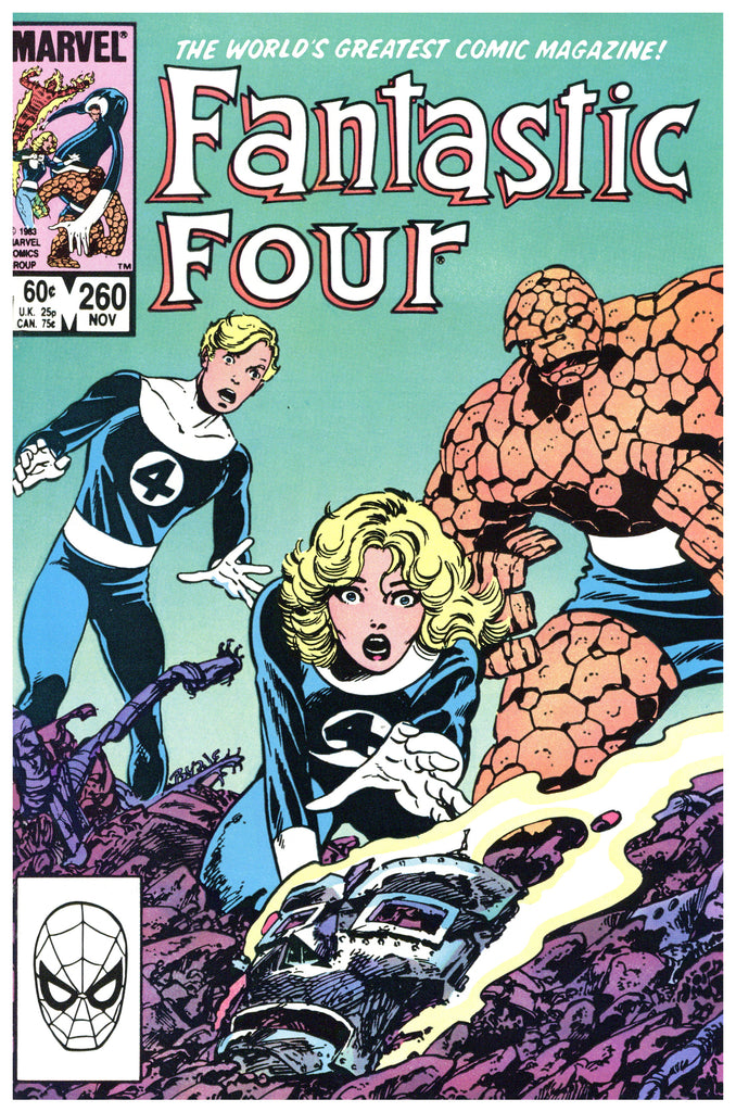 Fantastic Four #260 NM+