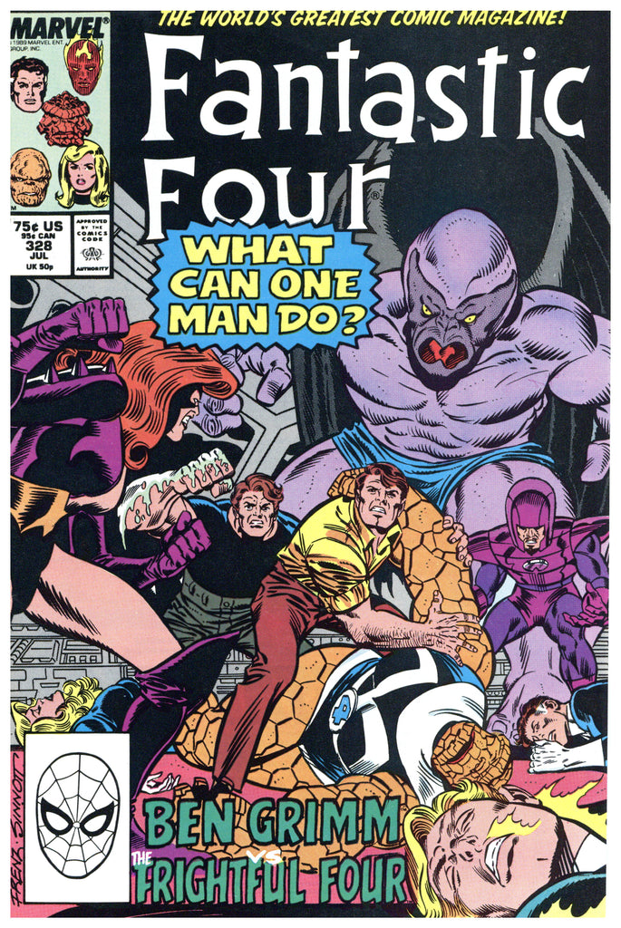 Fantastic Four #328 NM+