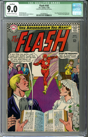 Flash #165 CGC 9.0 Qualified